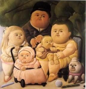 Botero criancas